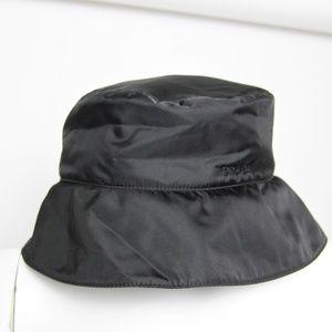 PRADA Black Classic Nylon HAT size M
